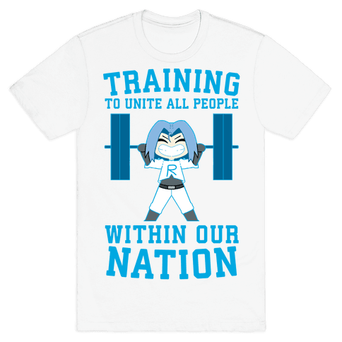 Training To Unite All People Within Our Nation Mens/Unisex T-Shirt