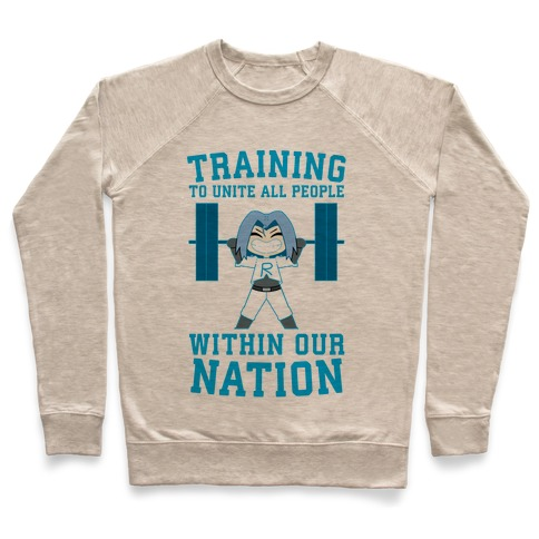 Training To Unite All People Within Our Nation Pullover