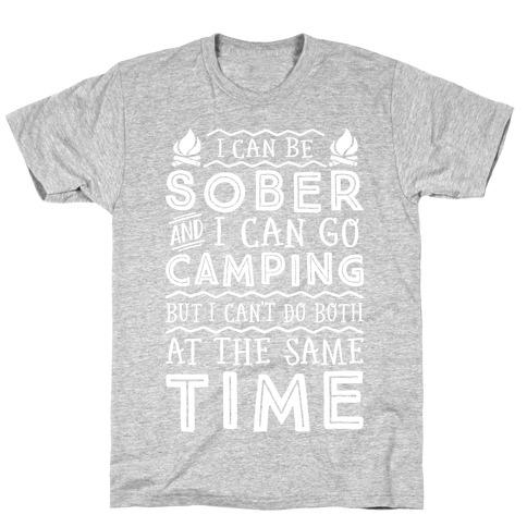 Sober Camping T-Shirt