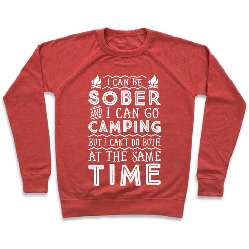 Sober Camping Pullover