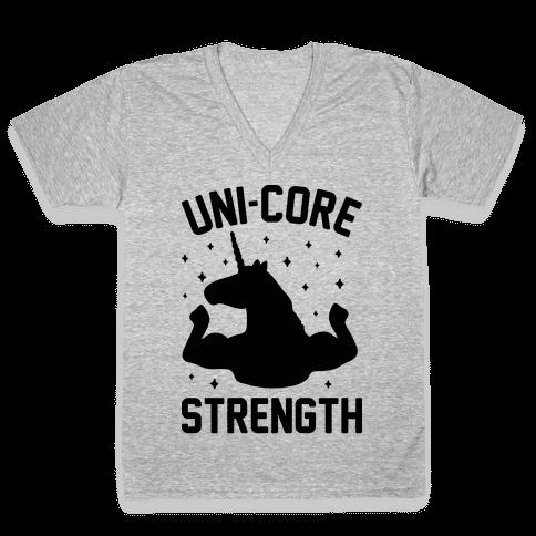 Uni-Core Strength V-Neck Tee Shirt