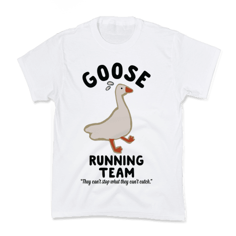 Goose Running Team Kids T-Shirt