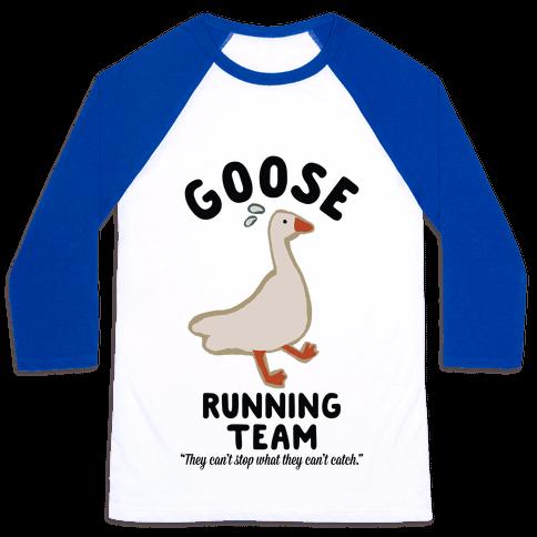 Goose Running Team Baseball Tee