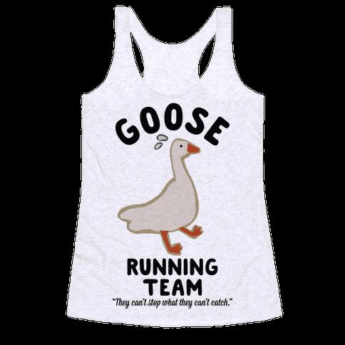 Goose Running Team Racerback Tank Top