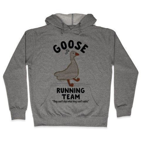 Goose Running Team Hooded Sweatshirt