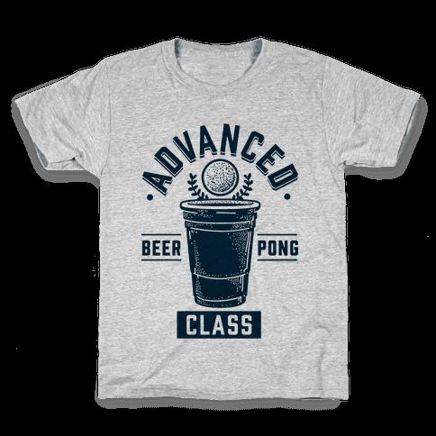 Advanced Beer Pong Class Kids T-Shirt