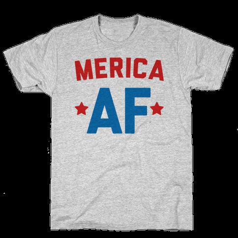 Merica AF Mens T-Shirt