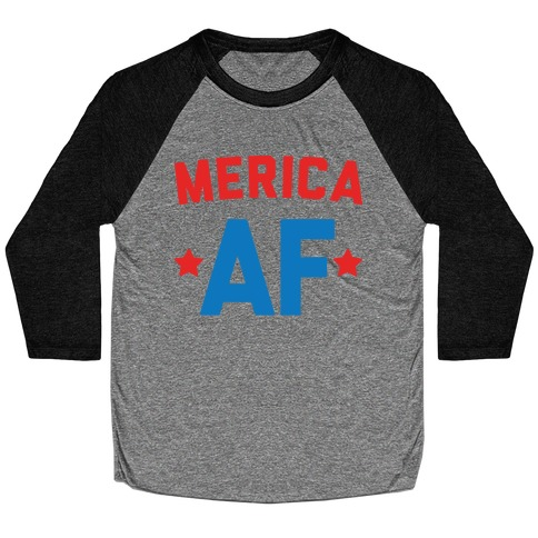 Merica AF Baseball Tee