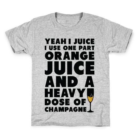 Yeah I Juice Kids T-Shirt
