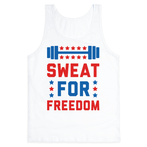 Sweat For Freedom Tank Top