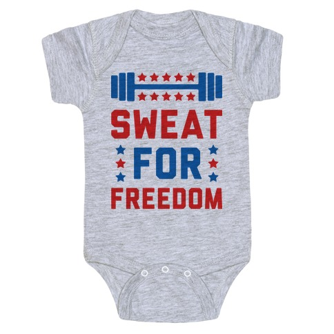 Sweat For Freedom Baby Onesy