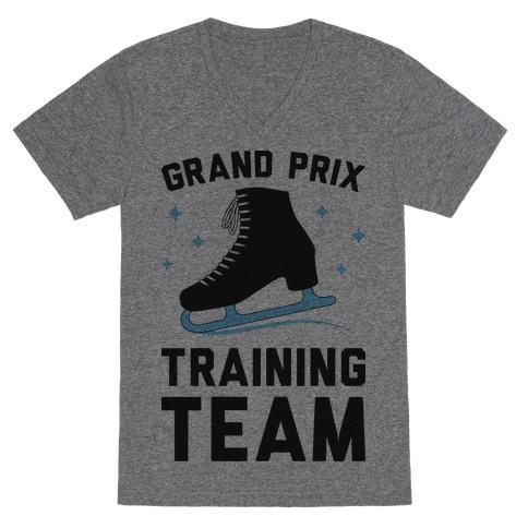 Grand Prix Training Team V-Neck Tee Shirt