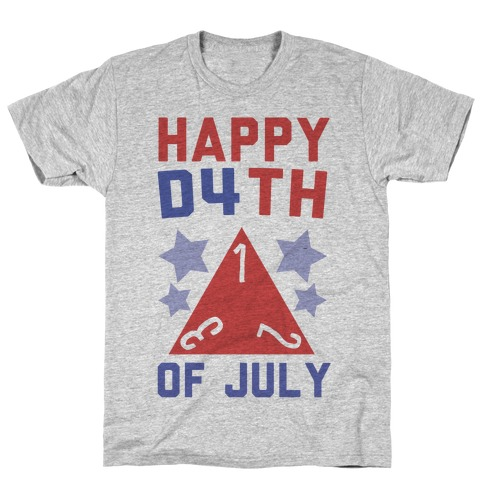 Happy D4th of July T-Shirt