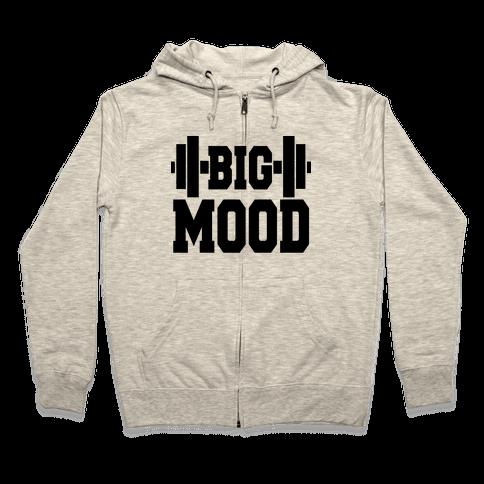 Big Mood Weights Zip Hoodie