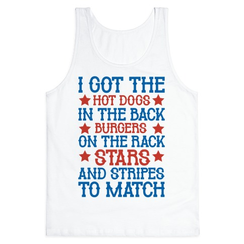 Old Town Road Fourth of July Parody Tank Top