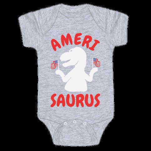 Amerisaurus Baby Onesy