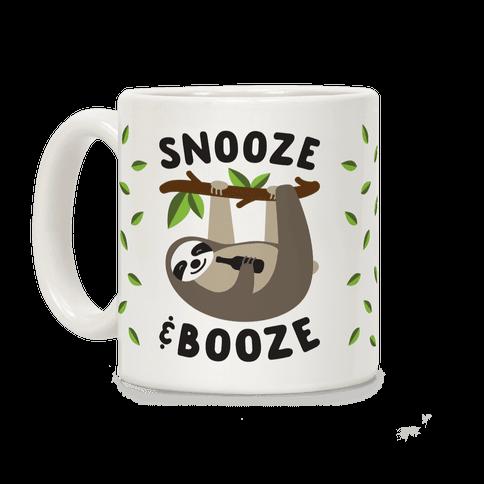 Snooze & Booze Coffee Mug