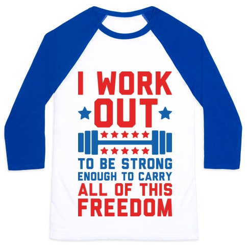 Carry All Of This Freedom Baseball Tee