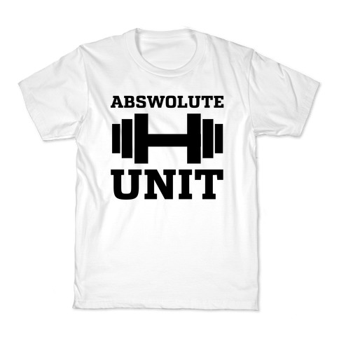 Abswolute Unit Kids T-Shirt