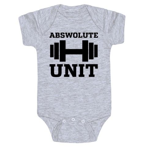 Abswolute Unit Baby Onesy