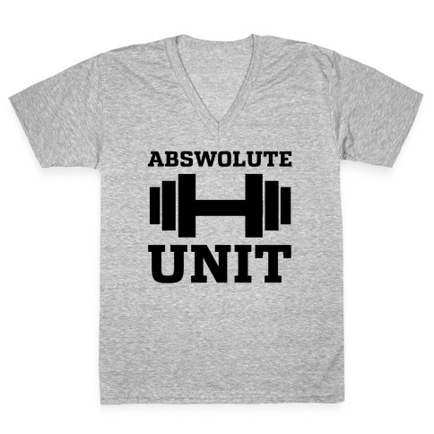 Abswolute Unit V-Neck Tee Shirt