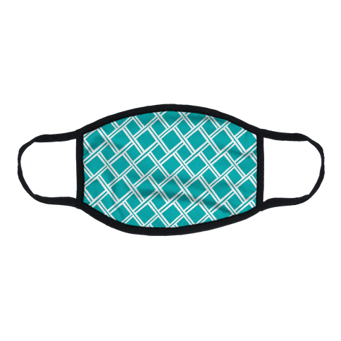 Weaving Pattern Flat Face Mask