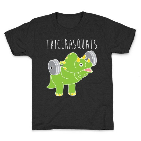 TriceraSQUATS Kids T-Shirt