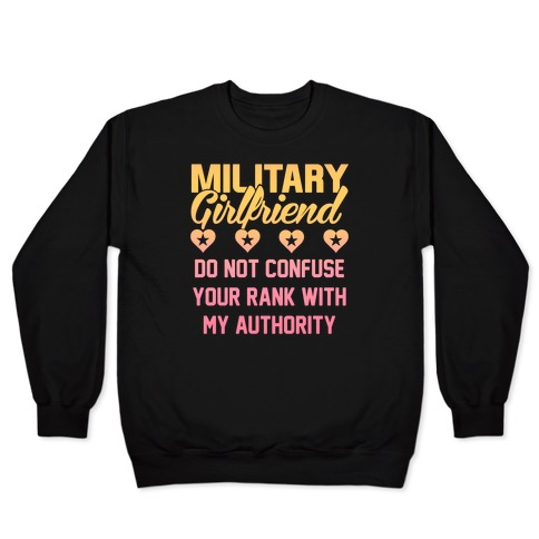 Military Girlfriend Pullover