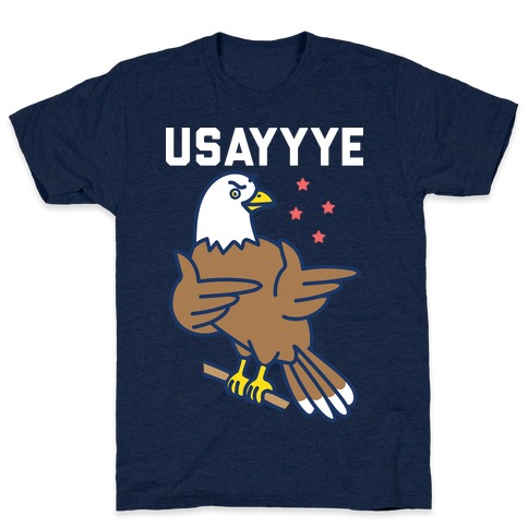 USAYYYE Bald Eagle T-Shirt