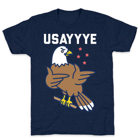 USAYYYE Bald Eagle Mens/Unisex T-Shirt