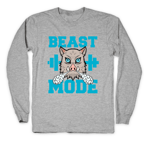 Beast Mode Inosuke Long Sleeve T-Shirt