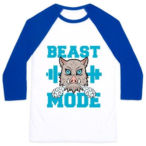 Beast Mode Inosuke Baseball Tee