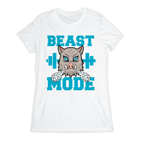 Beast Mode Inosuke Womens T-Shirt
