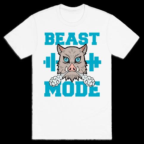 Beast Mode Inosuke Mens/Unisex T-Shirt