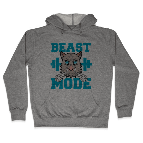 Beast Mode Inosuke Hooded Sweatshirt