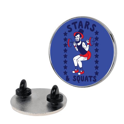 Stars and Squats Pin