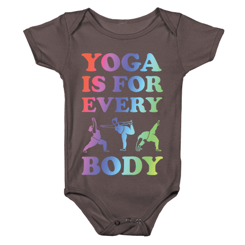 Yoga Is For Every Body Baby One-Piece
