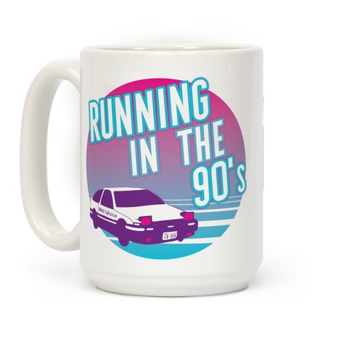 Running in the 90's Coffee Mug