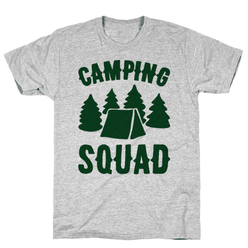Camping Squad Mens/Unisex T-Shirt