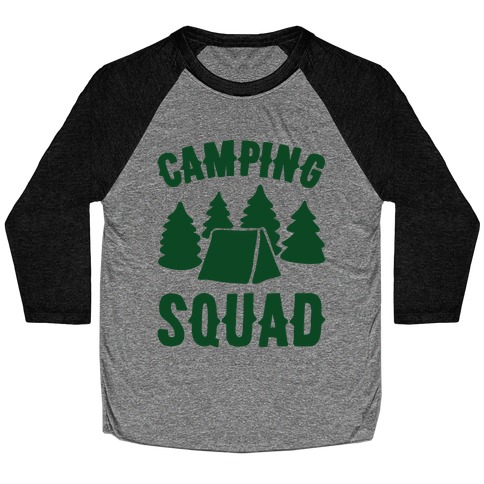Camping Squad Baseball Tee