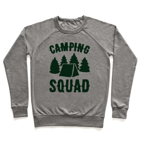 Camping Squad Pullover