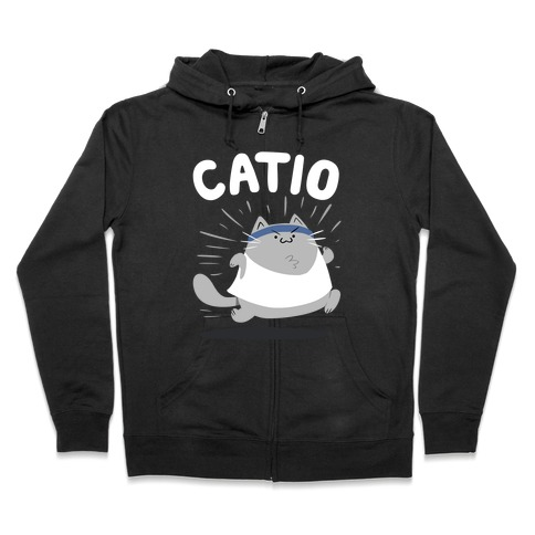 Catio Zip Hoodie