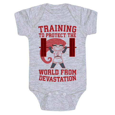 Training To Protect Our World From Devastation Baby Onesy