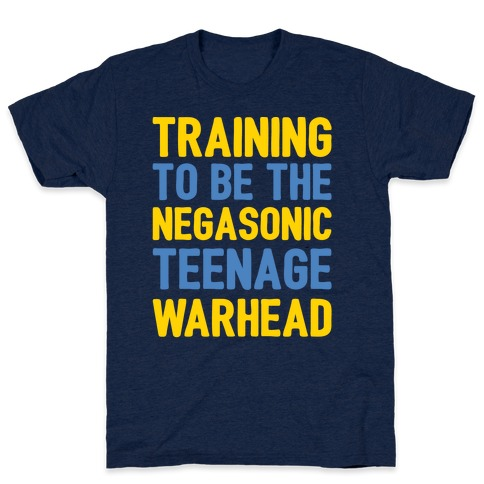 Training To Be The Negasonic Teenage Warhead White Print T-Shirt