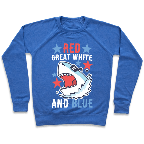 Red, Great White and Blue Pullover