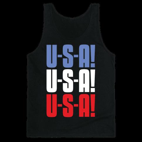 U-S-A! U-S-A! U-S-A! Tank Top