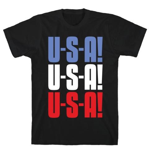 U-S-A! U-S-A! U-S-A! T-Shirt