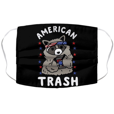 American Trash Accordion Face Mask