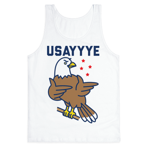 USAYYYE Bald Eagle Tank Top