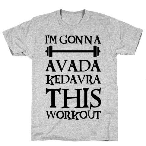 0c1960806 Harry Potter Workout Nerds T-Shirts | Activate Apparel